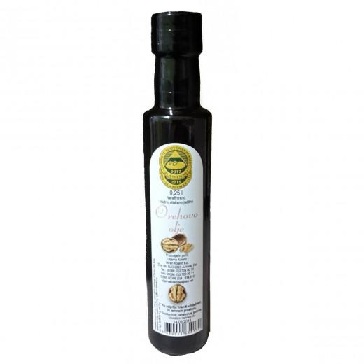 Hladno stiskano orehovo olje Kolarič, 250 ml