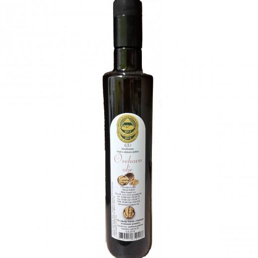 Hladno stiskano orehovo olje Kolarič, 500 ml