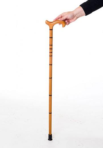 Palica sprehajalna T-ročaj Herdegen - imitacija bambusa