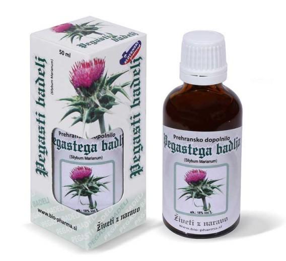 Bio - Pharma, pegasti badelj, tekoči izvleček, 50 ml
