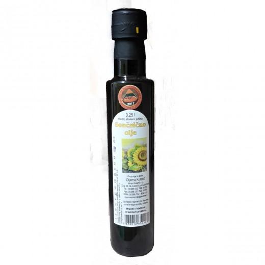 Hladno stiskano sončnično olje Kolarič, 250 ml