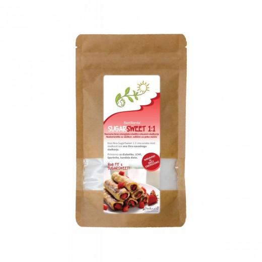 Naravni nadomestek sladkorja brez kcal SugarSweet 1:1, 300g