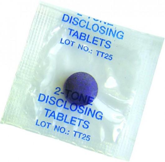 Tablete Plaquefinder za odkrivanje zobnih oblog, 20 kosov