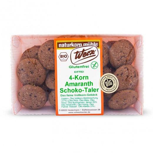 Amarantovi čokoladni tolarji iz štirih žit, 125 g