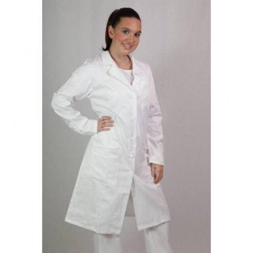 Bela ženska halja Vita