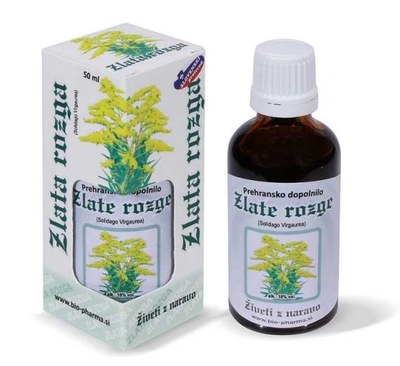 Bio - Pharma, zlata rozga, tekoči izvleček, 50 ml